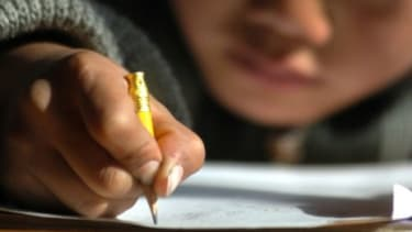 Most grade-school children are spending only one hour a week on penmanship.