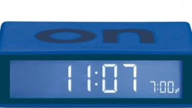 The absolutely foolproof alarm clock