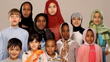 A grassroots PSA showcases American Muslims talking about their faith.