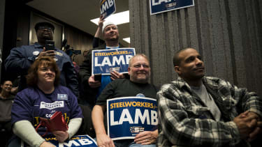 Conor Lamb supporters.