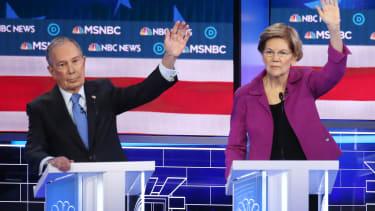 Michael Bloomberg Elizabeth Warren.