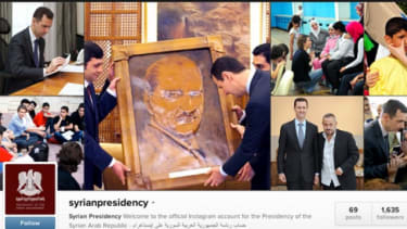 Syrian Presidency Instagram