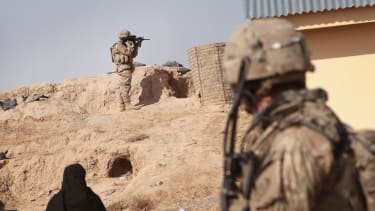 U.S. Army pulls 588 soldiers from 'positions of trust'
