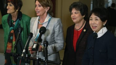House Democrats Womens Strike.