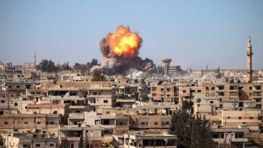 A car bomb in Syria