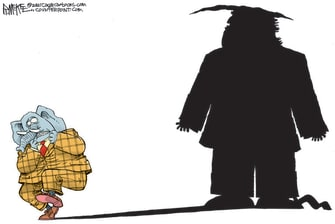 Political Cartoon U.S. gop trump