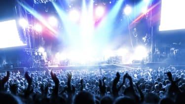 A music festival.