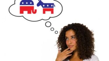 Female voter