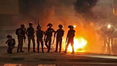 Unrest in Jerusalem.