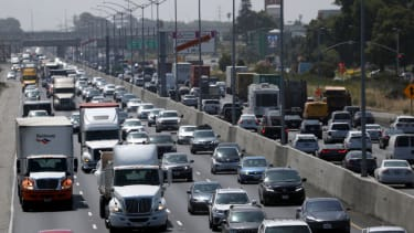 Traffic in the Bay Area