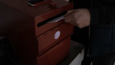 Absentee ballot.
