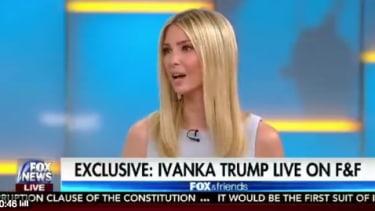 Ivanka Trump introduces workforce development week on Fox and Friends.