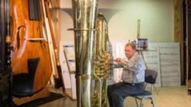 The largest working tuba