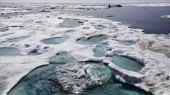 The Beaufort Sea.