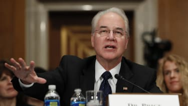 Tom Price expertly avoided the most controversial topics.