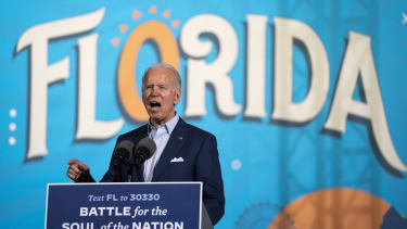 Biden in Florida.