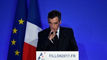 French presidential candidate Francois Fillon.