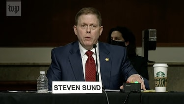 Former Capitol Police chief Steven Sund