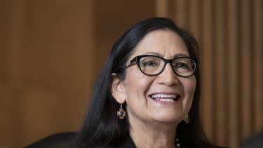 Debra Haaland in Washington