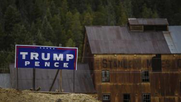 A Trump sign in Colorado.