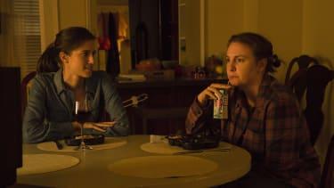 Allison Williams and Lena Dunham in Girls.