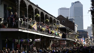 Thousands flock to New Orleans for Fat Tuesday celebrations