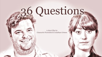 Poster for the short film 36 Questions
