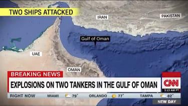 Two ships attacked off Oman