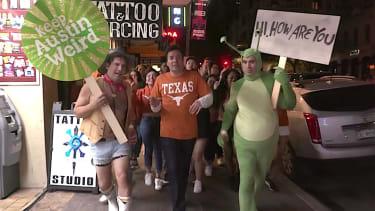 Jimmy Fallon visits Austin