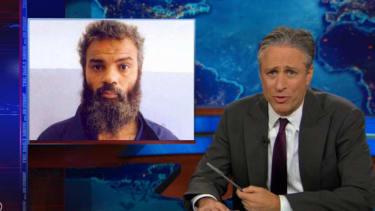 Jon Stewart mocks Fox News for slamming Obama on the Benghazi terrorist capture, fawning over Hillary