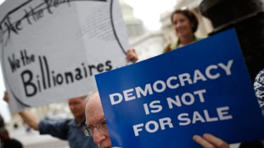 The Senate will debate its right to limit campaign spending
