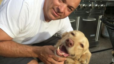 Nearly two years later, owners reunite with dog that went missing on camping trip