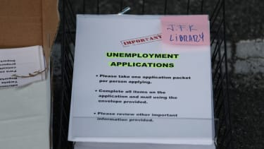 Unemployment applications