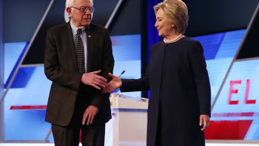 Clinton and Sanders practically tied in latest national poll.