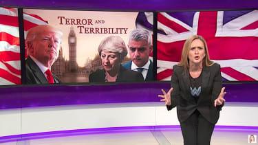 Samantha Bee hits Trump terrorism tweeting