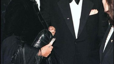 Frank and Barbara Sinatra in 1996