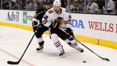 Blackhawks stay alive, Heat shut down Pacers in playoffs action