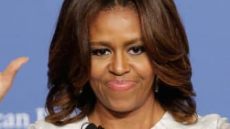 Michelle Obama thinks we should have a woman president ASAP — and it 'definitely' won't be her