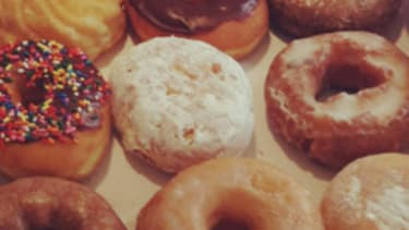 In pursuit of the police officer's doughnut discount