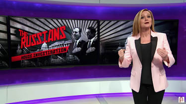 Samantha Bee takes an unhappy victory lap on Russian trolling