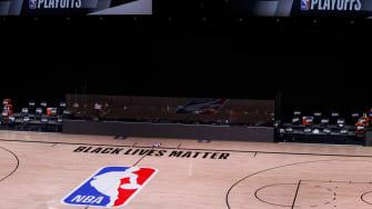 NBA's Orlando bubble.