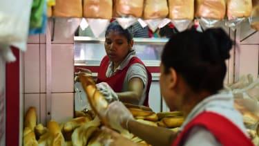Venezuelan bakery.
