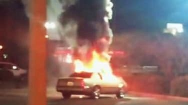 Florida woman allegedly torches car after man refuses to buy her a McFlurry