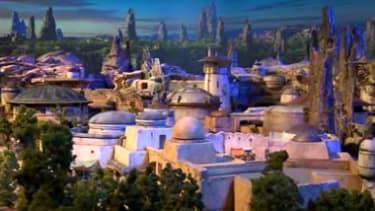 Disney's Star Wars land.