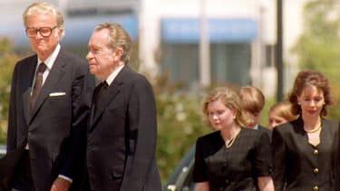 Rev. Billy Graham and Richard Nixon
