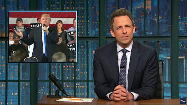 Seth Meyers discovers a new law of physics