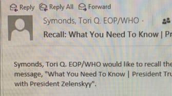 Ukraine Talking Points Email.