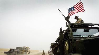 U.S. forces in Kuwait.