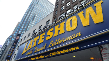 David Letterman's favorite band is...Foo Fighters?