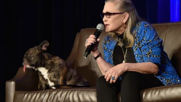 Carrie Fisher in 2016